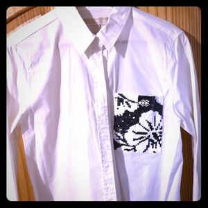 White Blouse by Micheal Kors
